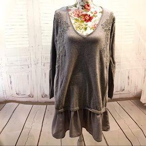 Lauren Conrad grey Sweater.